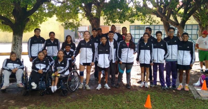 30 deportistas morelenses listos para la Paralimpiada Nacional 2018