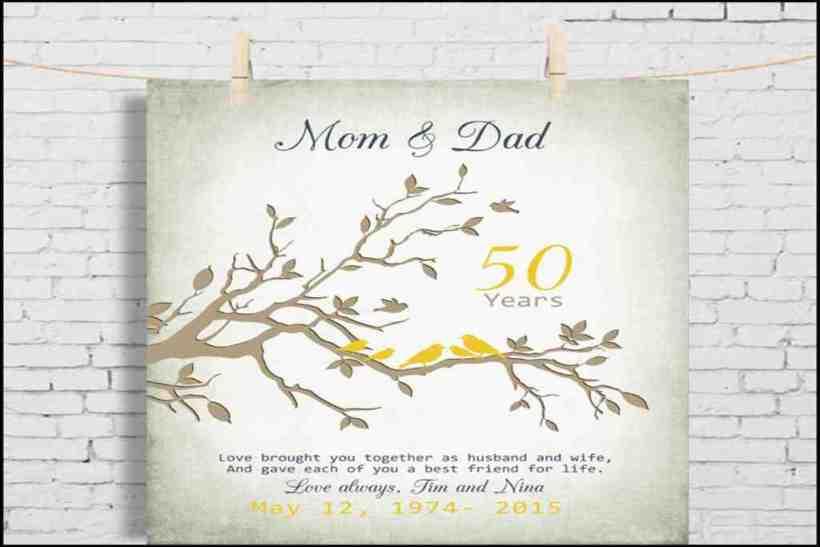Hallmark Wedding Anniversary Gifts: What Is An Appropriate Gift For A 50th Wedding Anniversary