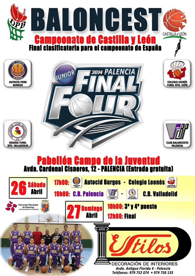 Cartel Final Four Junior 2014