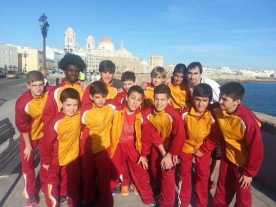 Selección mini masculina de Castilla y León. Foto Twitter Nacho Coque