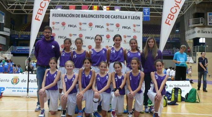Selección PRD de Palencia que jugó en Noviembre. Foto Basketcyl.com