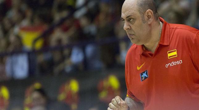 Lucas Mondelo, seleccionador nacional. Foto FEB