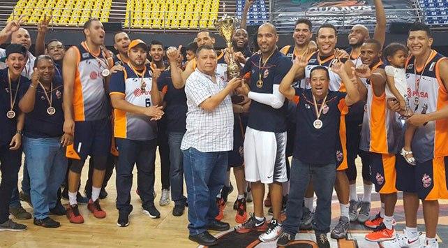 Zamora, campeón de la LNB con el Broncos de Caracas. Foto prensa Broncos