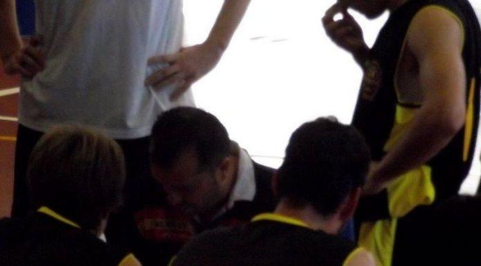 Javier de la Fuente en la temporada en que jugó contra el CB Villamuriel de liga EBA