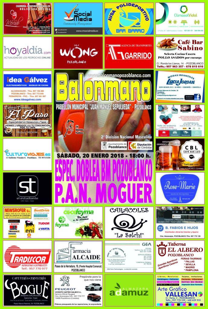 Balonmano Pozoblanco - Balonmano Moguer 2018