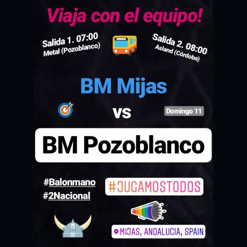 Viaje a Mijas - Club balonmano Pozoblanco