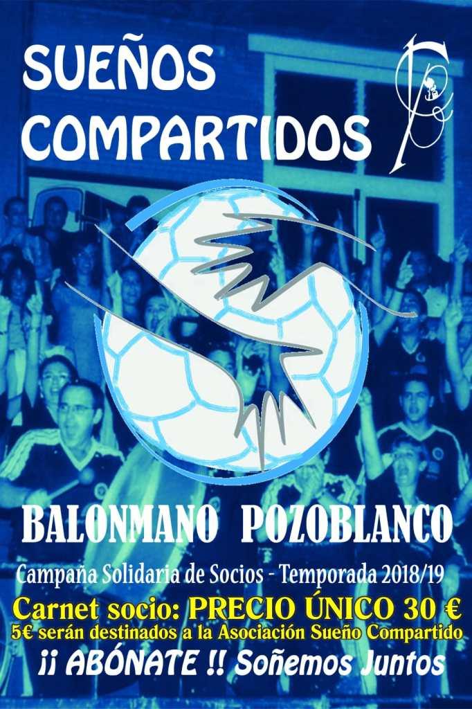 Carnet solidario - Balonmano Pozoblanco 2018 - 2019