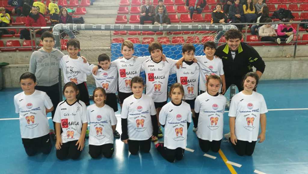 Equipos benjamines Club Balonmano Pozoblanco