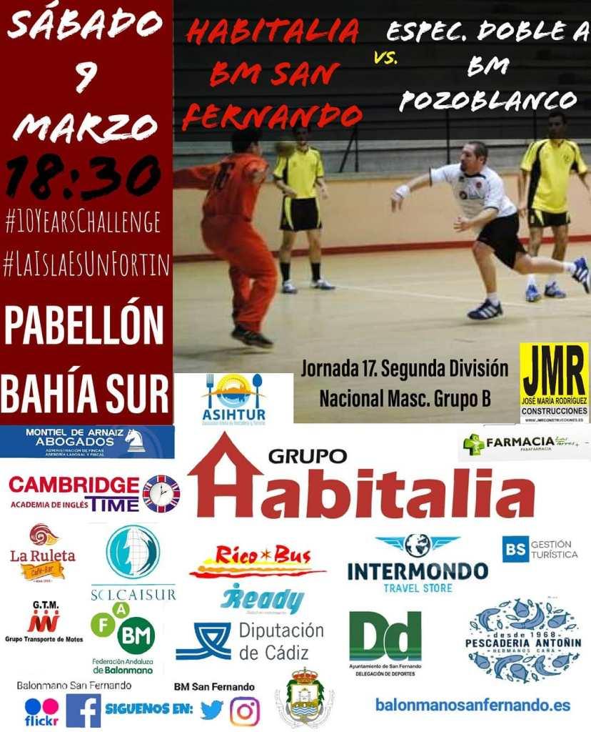 BM San Fernando - BM Pozoblanco