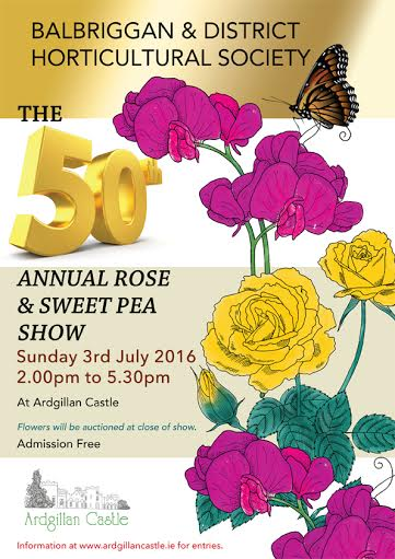 Balbriggan Rose and Sweet Pea Show 2016