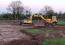 MUGA Pitch Construction starts