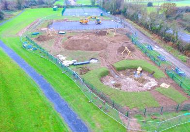 Playground Construction works