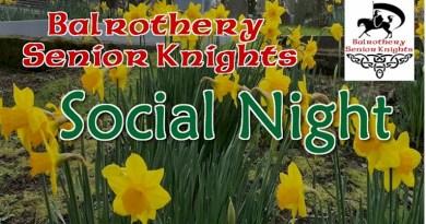Senior Social Night February