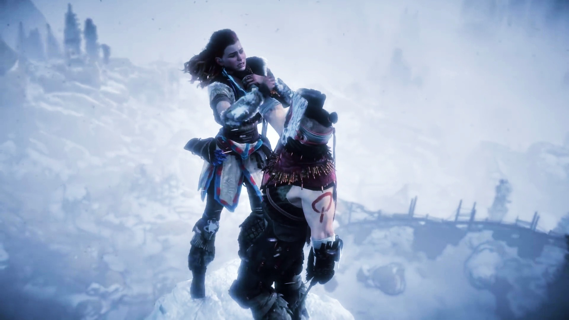 Horizon Zero Dawn Fighting Wallpaper 00527   Baltana Original Resolution