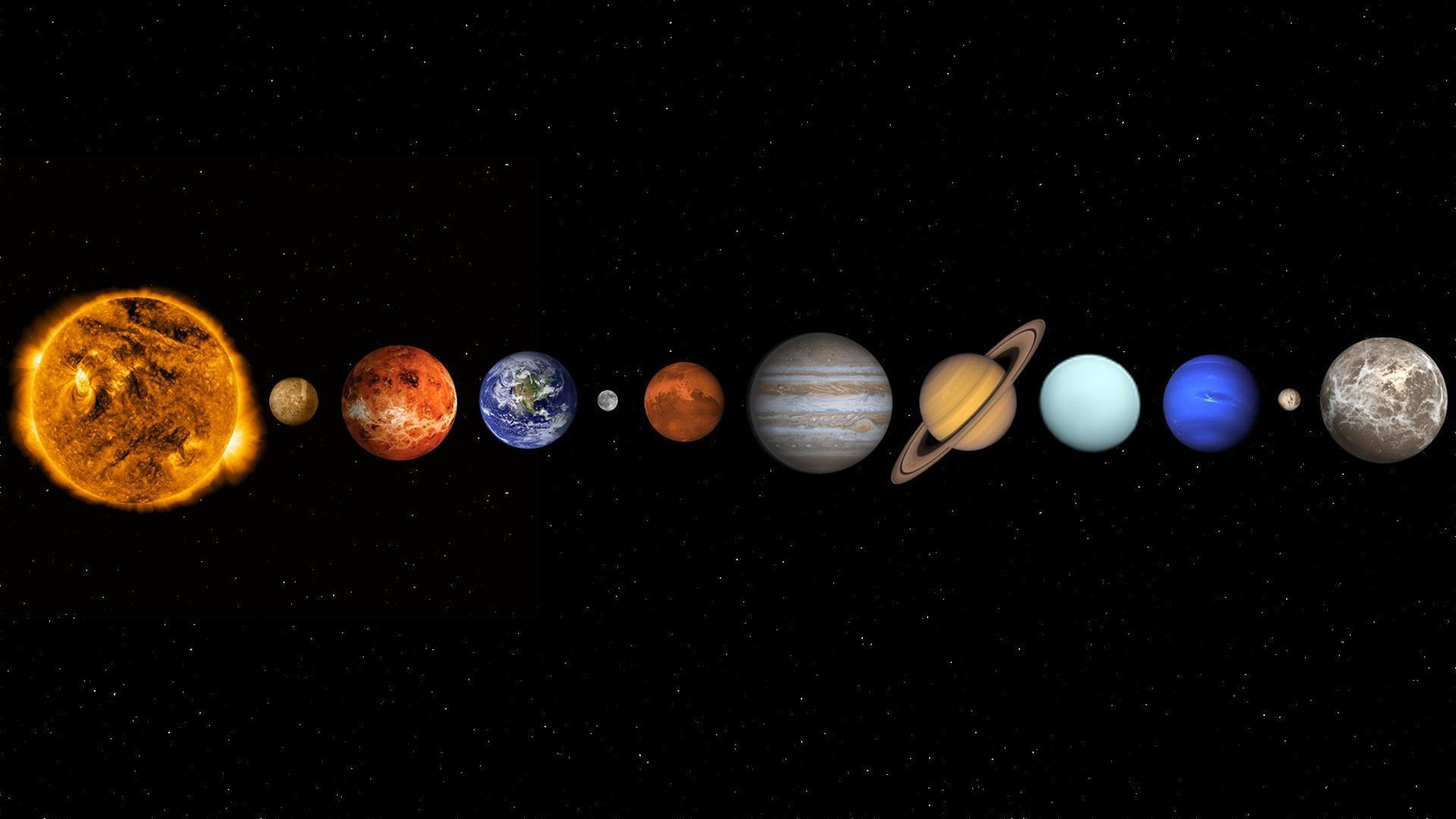 Solar System Background Wallpaper 15440 Baltana