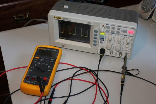Necessary instruments: an oscilloscope and a good multimeter