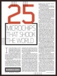 25 Microchips that Shook the World