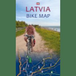 Latvia Bike Map 2015