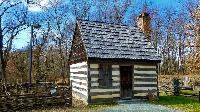 Cabin at Benjamin Banneker Park
