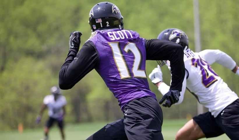 Jaleel Scott Ravens