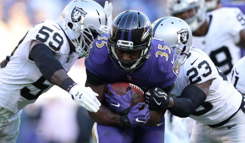 Ravens Raiders NFL Week 12 2018