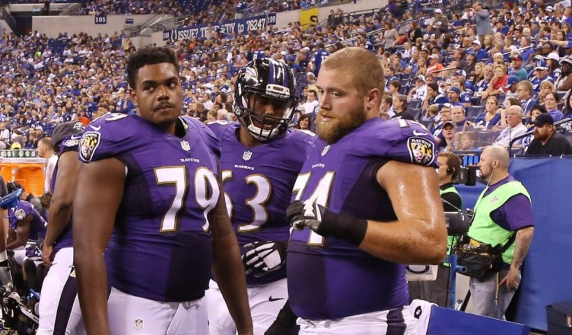 Ravens Ronnie Stanley James Hurst