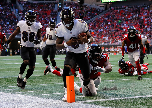 Baltimore Ravens Atlanta Falcons Game Review