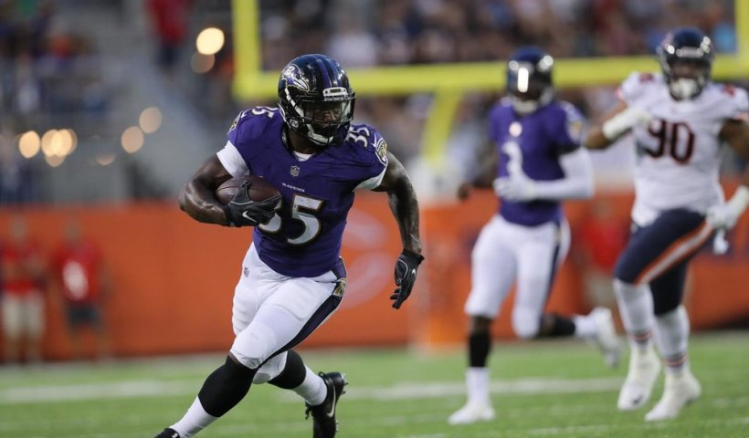 Gus Edwards Ravens RB Corps