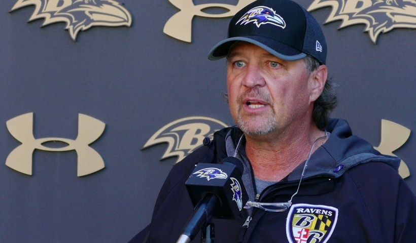 Marty Mornhinweg Baltimore Ravens Offensive Coordinator