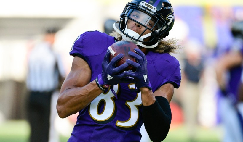 Willie Snead Baltimore Ravens Season Awards