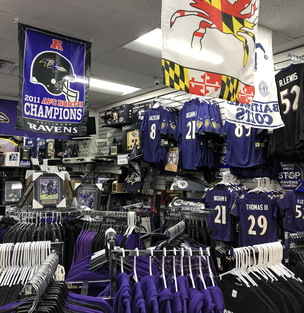 Ravens Flags, Novelties