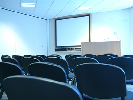 Sala de Presentación.