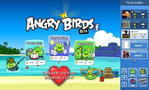Ya se puede jugar Angry Birds en Facebook