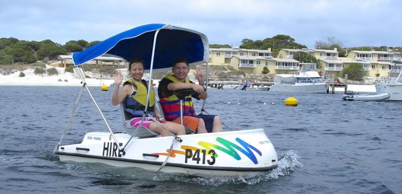 Water activities on Rottnest island @2005