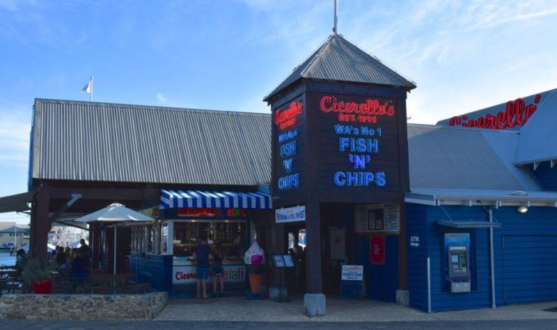 Cicerellos, Fremantle harbour