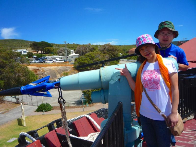 Whale World, whale chaser, Albany