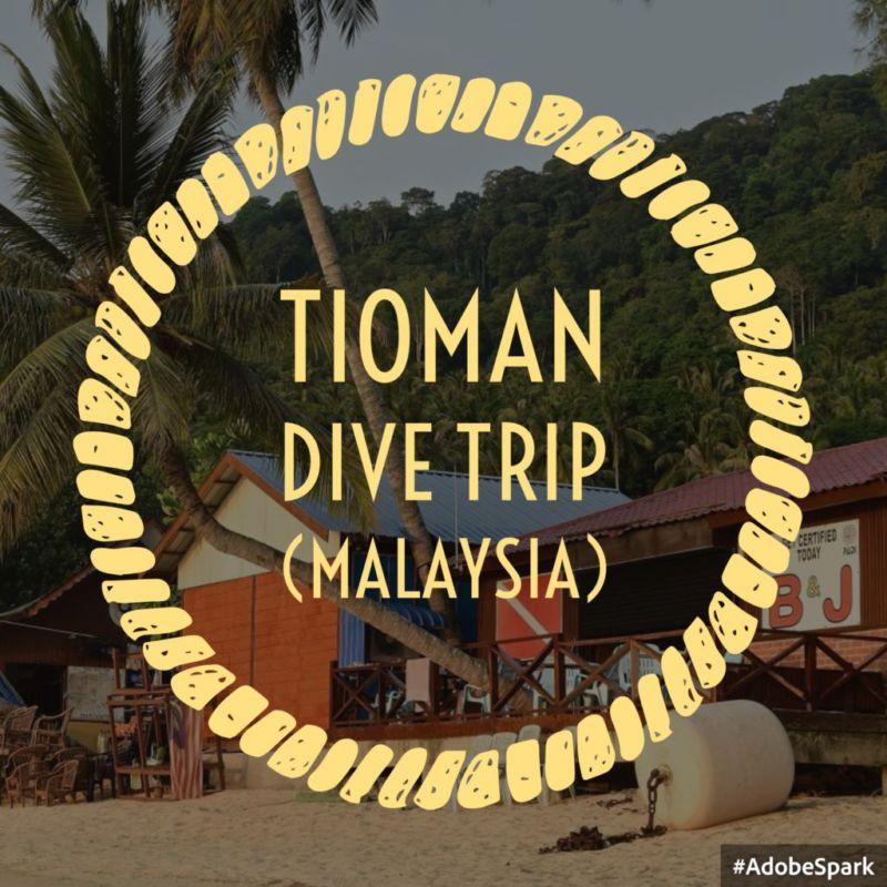 Tioman Dive Trip (Malaysia, May 2015)