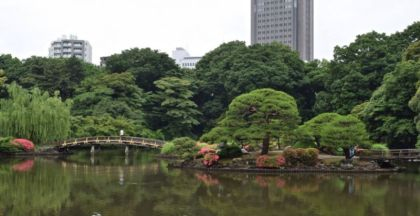 Japanese Garden, Shinjuku Gyoen, Tokyo