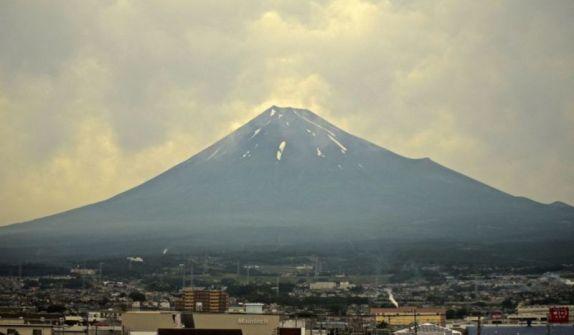 View of Mt Fuji en-route Tokyo to Osaka