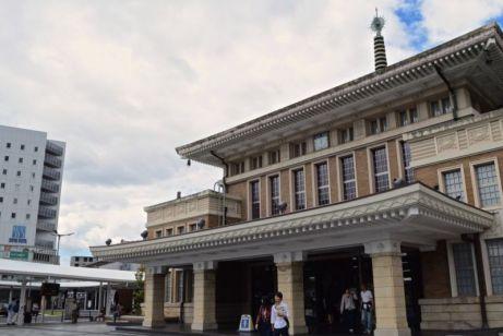 Old Nara Station (beside current JR Nara Station)