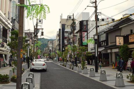 JR Nara Station enroute to Todaiji