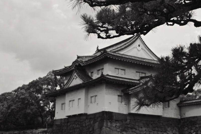 Turret at Osaka Castle