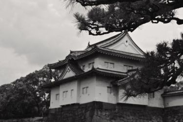 Turret at Osaka Castle