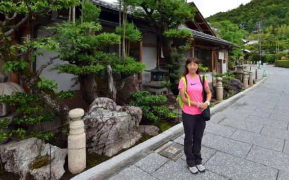 Enroute to Saga-Toriimoto Preserved Street, Kyoto