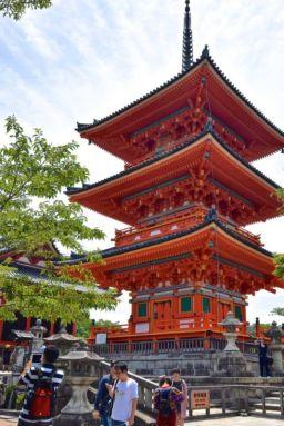 Three-Storied Pagoda, Kiyomizu-dera , Kyoto