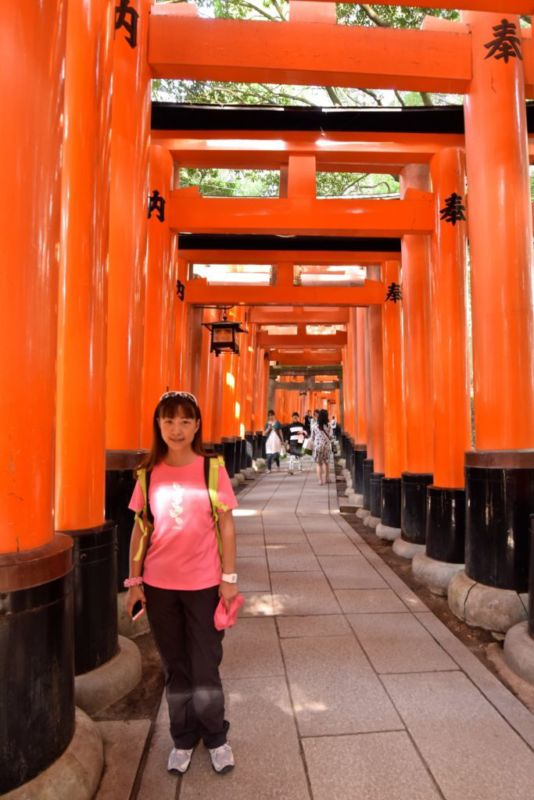 First row of torii gates, Fushimi Inari, Kyoto