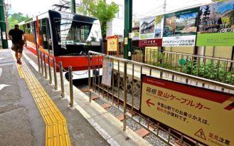Hakone Tozan Cablecar
