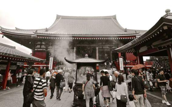 Main hall of Sensō-ji