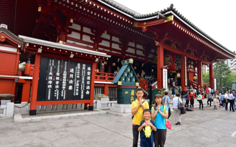 Main hall of Sensō-ji