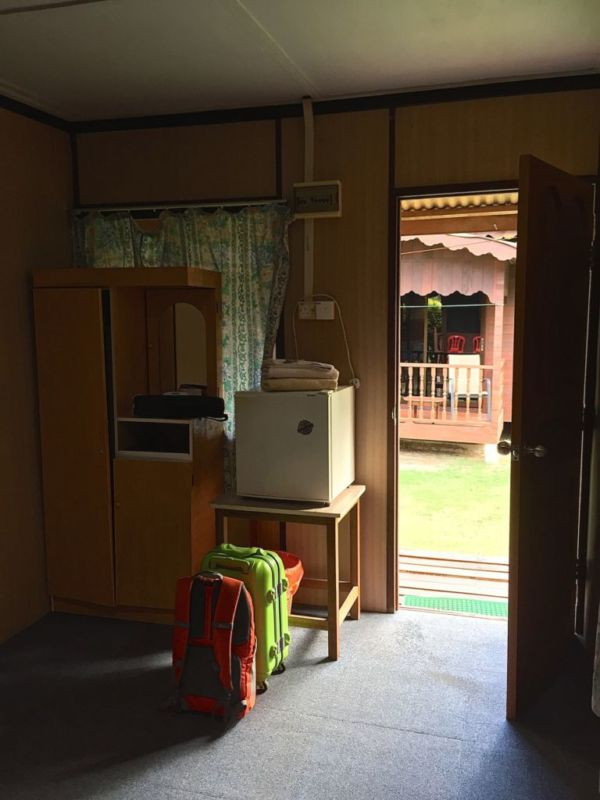 Aircon double room, Salang Pusaka Resort, Tioman